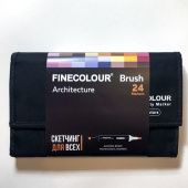 "Набор Finecolour BRUSH ""Архитектура"" (24 цвета)"