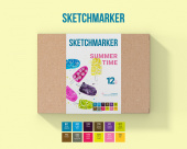 SKETCHMARKER SUMMER TIME SET 12