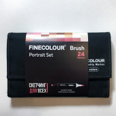 "Набор Finecolour BRUSH ""Портрет"" (24 цвета)"