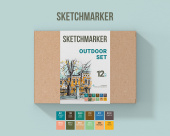 SKETCHMARKER OUTDOOR SET 12