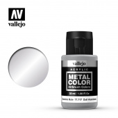 77717 Краска Vallejo Metal Color Dull Aluminum (Алюминий тусклый)