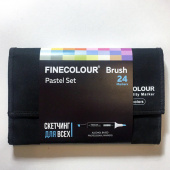 "Набор Finecolour BRUSH ""Пастель"" (24 цвета)"
