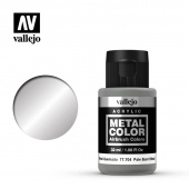 77704 Краска Vallejo Metal Color Pale Burnt Metal (Металл жженый палевый)