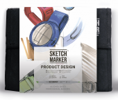 Набор маркеров SKETCHMARKER Product 36 set - Промышленный дизайн (36 маркеров + сумка органайзер)