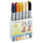 Набор маркеров COPIC CIAO School Uniforms (12 шт)