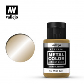 77725 Краска Vallejo Metal Color Gold (Золото)