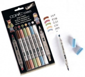 Набор маркеров COPIC CIAO Scrap & Stamp Set 2 (5+1 шт)