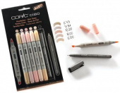 Набор маркеров COPIC CIAO Skin Tones (5+1 шт)
